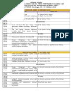Jadwal acara WS Direktur Dlm Akred RS - PERSI Jatim,   Surabaya, 30-31 Okt 2015 - ( Update ).doc