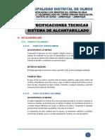 2. Especificaciones Tecnicas - Sistema de Agua Potable
