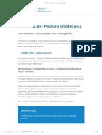 AFIP - Monotributo - Factura Electronica - 2018_08 - Pasos a Seguir