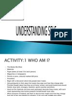 Lecture Understanding Self