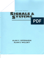 Solutions Manual to Signals and Systems - Oppenheim & Wilsky