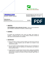 Proc.salinidad de Agua