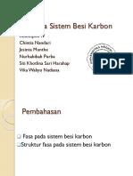 PPT_Fasa Pada Sistem Besi Karbon Fisika Material