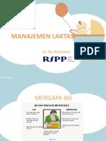 Manajemen Laktasi - Ria