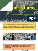 Informe de desechos sólidos UNAH