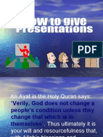 2.-How to Give Presentations