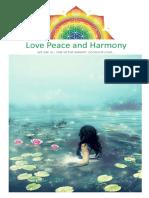 (29) -1-30 Kasım 2010 - Love Peace and Harmony Journal