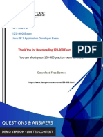 1Z0-900 Dumps - 1Y0-900 Oracle Application Developement Exam Questions.pdf