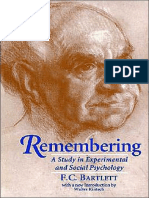 Frederic C. Bartlett-Remembering_ a Study in Experimental and Social Psychology-Cambridge University Press (1995)