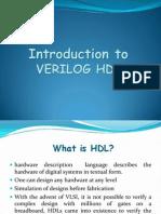 VERILOG HDL - Tutorial