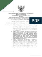 Peraturan Menteri Hukum Dan Hak Asasi Manusia (2)
