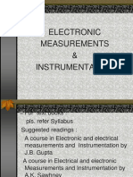 Electronic measurements