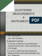 Electronic measurements