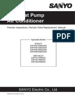 SANYO GHP Manual