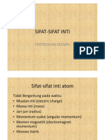 SIFAT-SIFAT INTIx