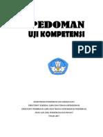 Pedoman Uji Kompetensi 2017
