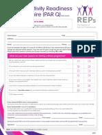 REPs Members PAR Questionnaire Short Verion