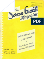 The Screen Guilds' Magazine V2 NO4 June 1935