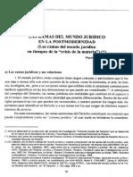 Las Ramas del undo jurídico en la Postmodernidad.pdf