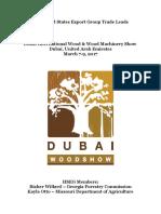 Dubai Wood Trade 2017