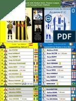 Premier League match 1 180811 Watford - Brighton 2-0