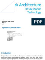 Netework Architecture of 5G Mobile Technology..pptx