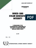 WWER-1000 Steam Generator Integrity