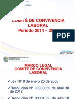 Información Comité de Convivencia Laboral 2018
