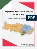 Répertoire Des Acteurs Sociaux Du Val DOise Vfinale