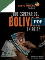 ¿Qué esperar del Bolívar en 2018? por Cedice