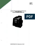 PT pressure transmitter installation