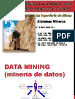 Universidad Nacional San Antonio Abad Del Cusco Data Minig