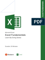 Modano Excel fundamentals