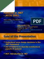 NET Patterns MV