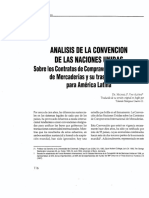 Analisis de La Convención de Las Naciones Unidas