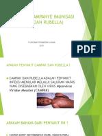 Sosialiasi Kampanye Imunisasi Mr (Campak Dan Rubella