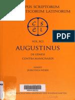 CSEL 091 - Augustinus (Ed. 1998)