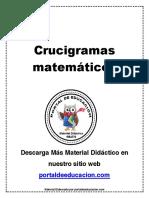 Crucigramas matemáticos.