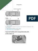 Caja de Fusibles Ranger 2.2  modelo 2014