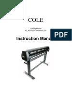 Manual Plotter COLETECH