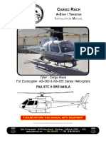 Cargo raCk a-Star / twinStar InstallatIon Manual For Eurocopter AS-350 & AS-355 Series Helicopters