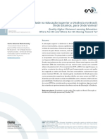 Qualidade na Educação Superior a Distância no Brasil