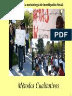 (5a)Metodos de Investigacion Social Cualitativos Unlocked