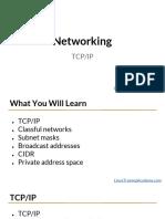 Network - Intro - TCP-IP