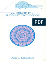 Principles of Buddhist Psychology