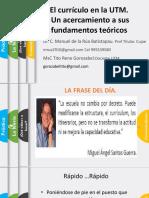Act 1 UTM Fundamentos Generales Del Curriculo