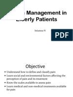 Bhs Pain Management in Elderly