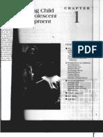 Child & Adolescent Development for Educators - Ch. 1