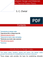 IGCSR Relationship Between Design and Materials for Thermal Power Plants