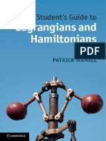 A Student s Guide to Lagrangians and Hamiltonians